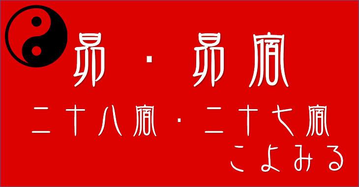 【昴宿】二十八宿・二十七宿の「昴」について